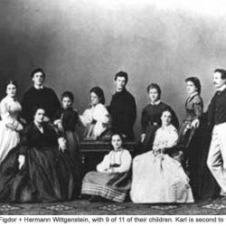 Fanny_Figdor _Hermann_Wittgenstein_family